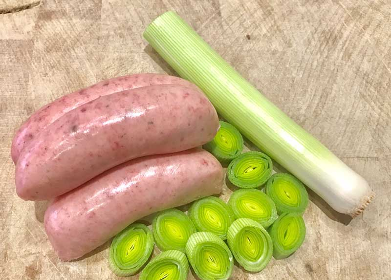 Burrowes Flavoured Sausages